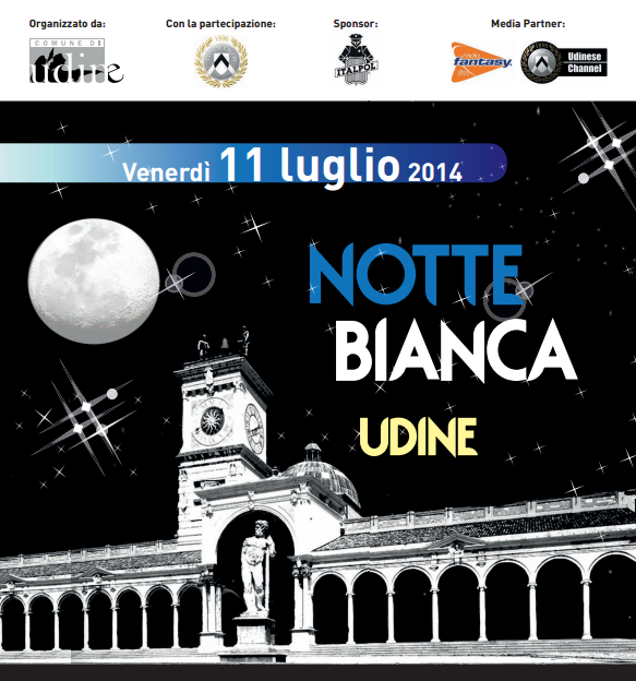 Udineinvetrina notte bianca 2014 a udine pdf for Notte bianca udine 2016