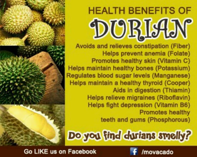 10 Health Benefits of Durian