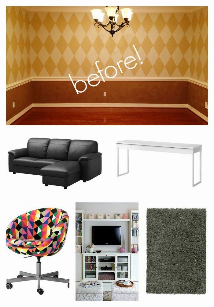 While I'm Waiting...kids living space makeover