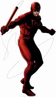 Dibujo de Daredevil-Dan Defensor