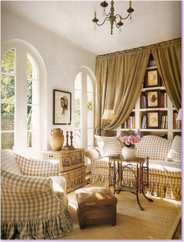 French country decor living room native home garden design for Country style family room ideas