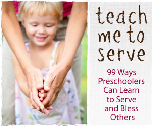 Serve With Your Children!