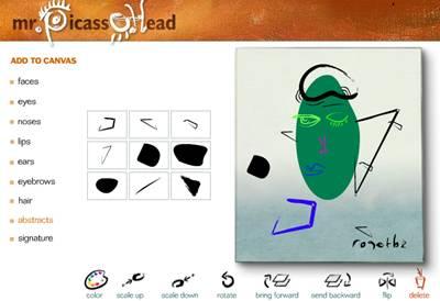 Picasso dessiner en ligne