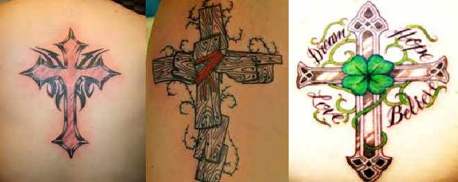 Gambar Tato Salib Paling Seksi Dan Keren