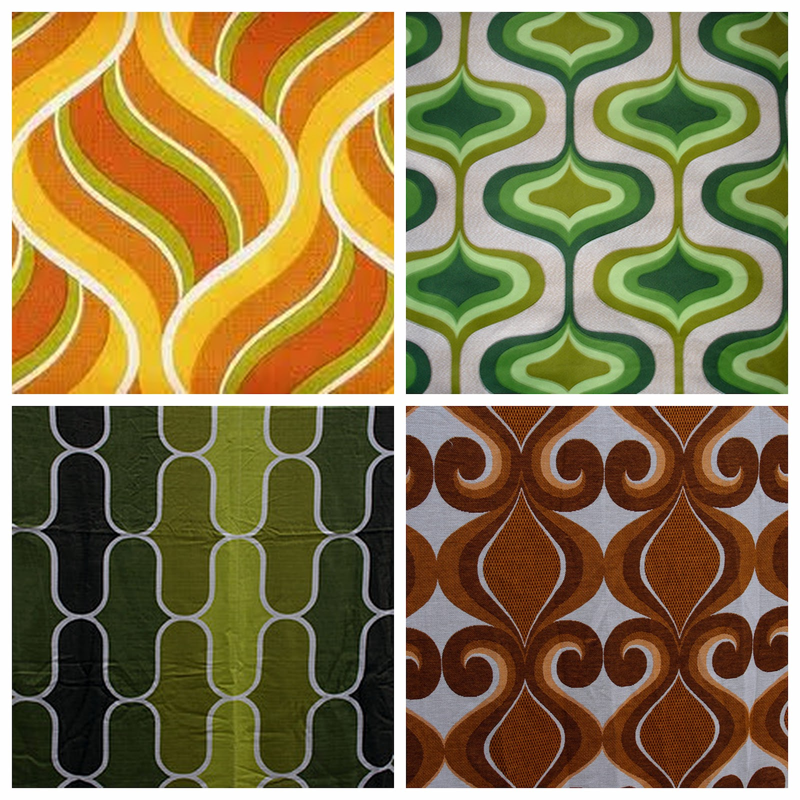 Glossary of design terminology choosing a pattern for Interior design 70s style