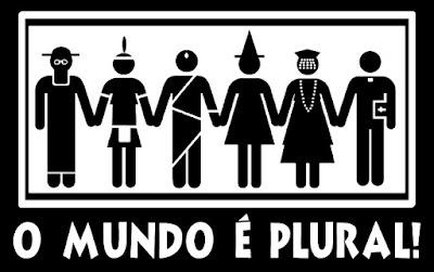 o mundo é plural