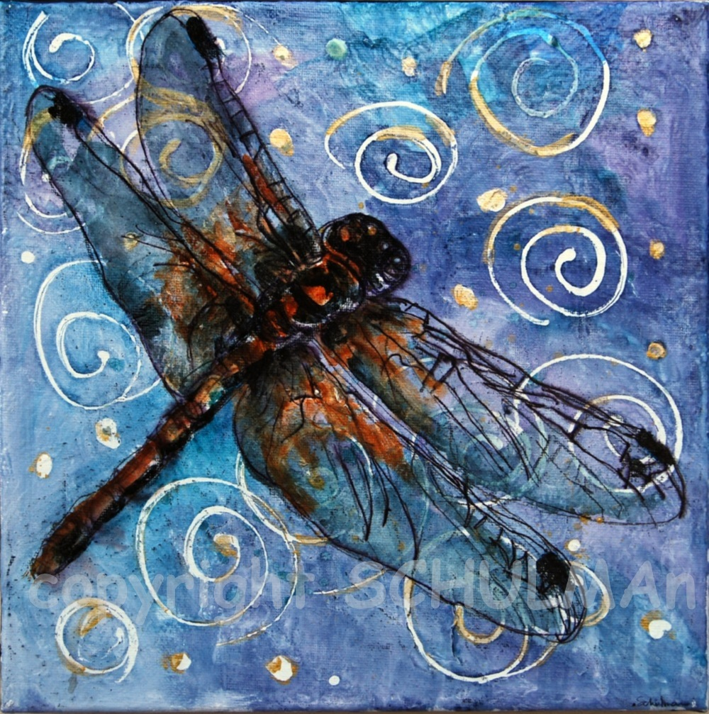 Art blog for the inspiration place happy chinese new year for Dragonfly mural
