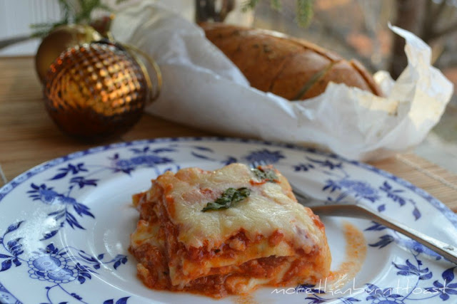 more than burnt toast: My Version of Thousand Layer Lasagna with ...