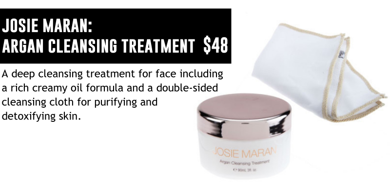 JOSIE MARAN ARGAN CLEANSING TREATMENT