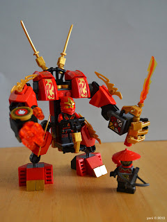 lego ninjago - or aka usagi, the red rabbit