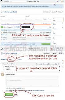 Cara Menyimpan Kode Script Ke Github.com