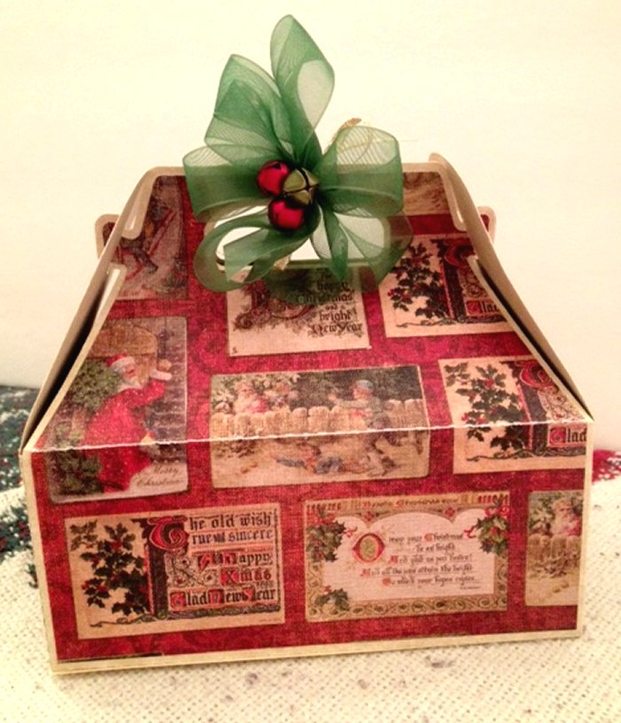 Craft creations christmas classic gift boxes