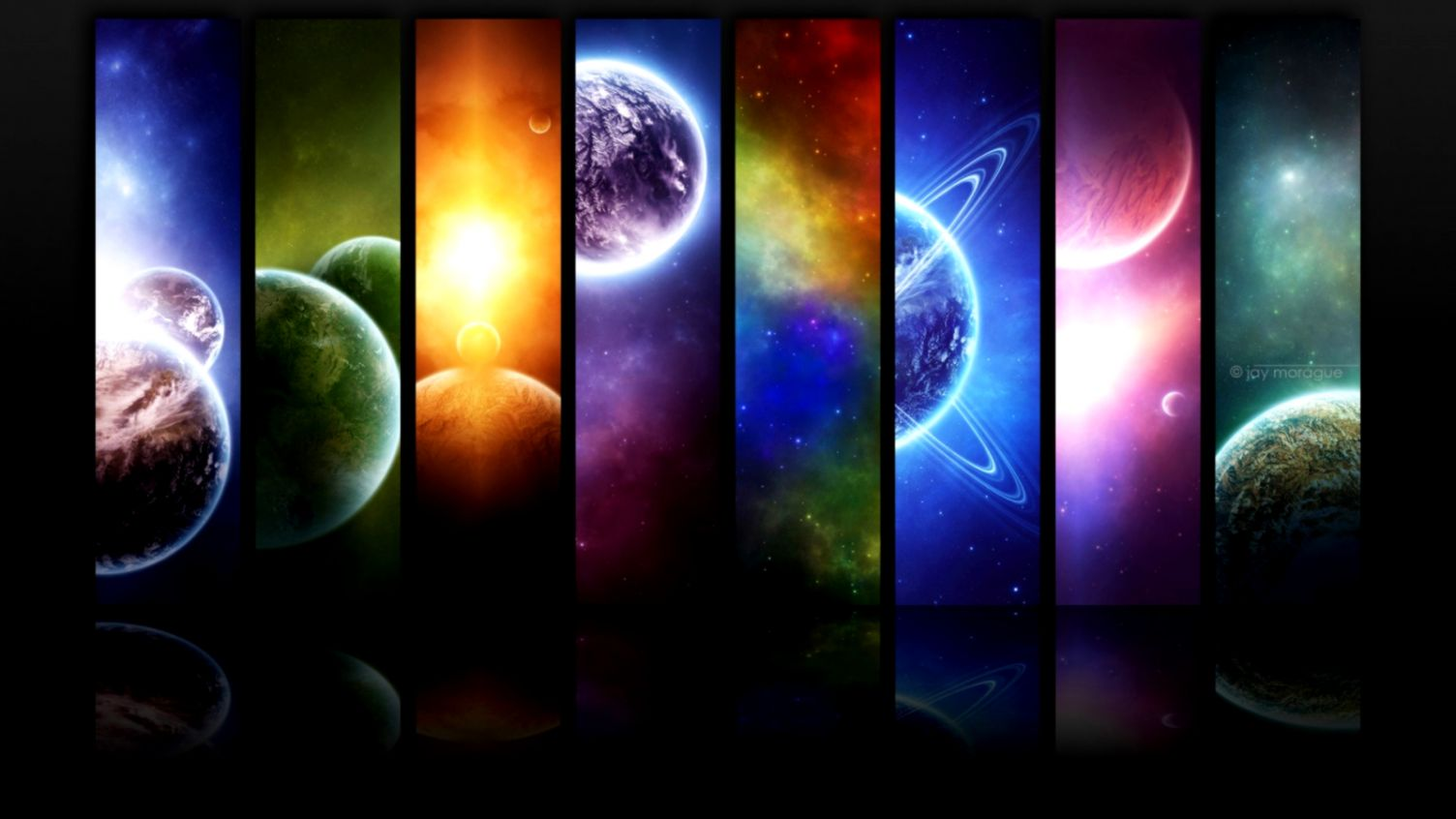 Widescreen Space HD Wallapapers