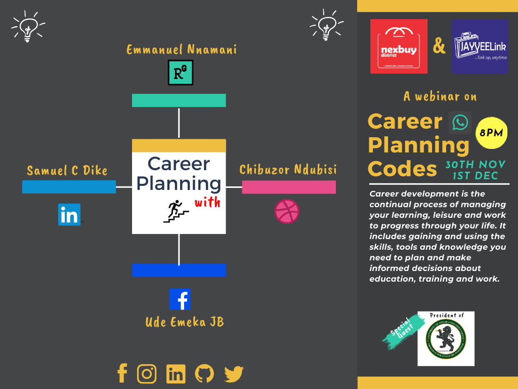 CAREER  PLANNING CODES