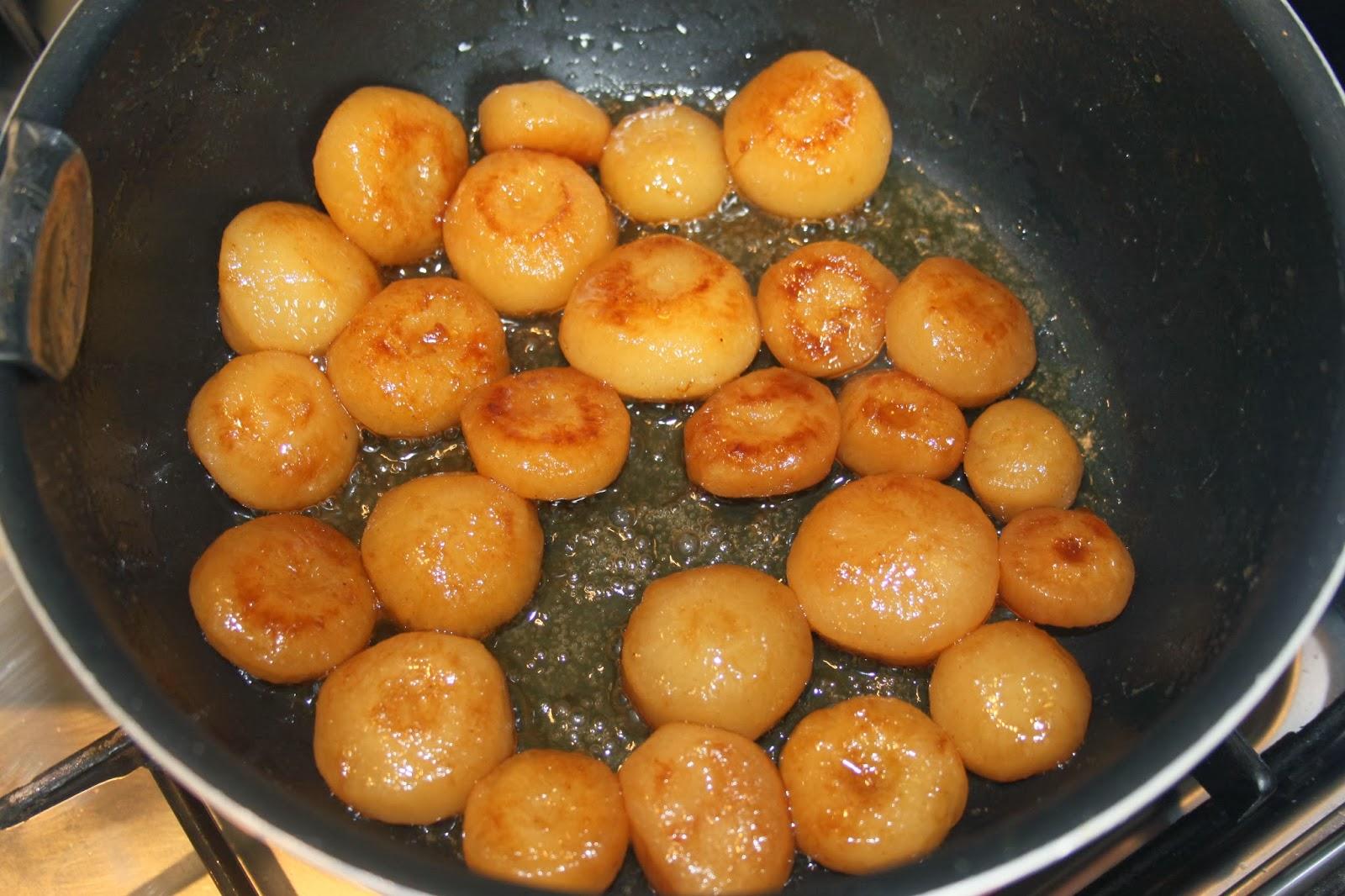 La cuisine de bernard navets glac s au sucre - Comment cuisiner des christophines ...