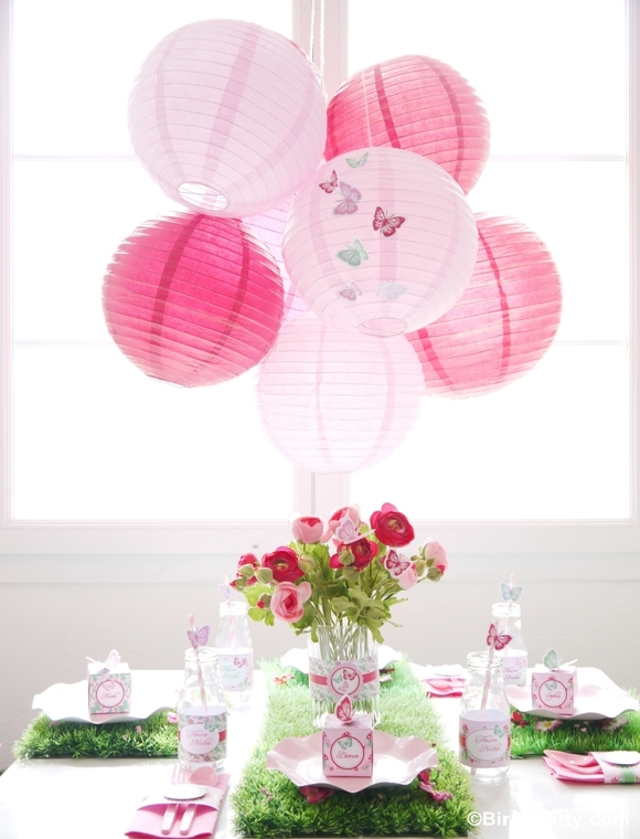 Pink Pixie Fairy Birthday Party Decorations