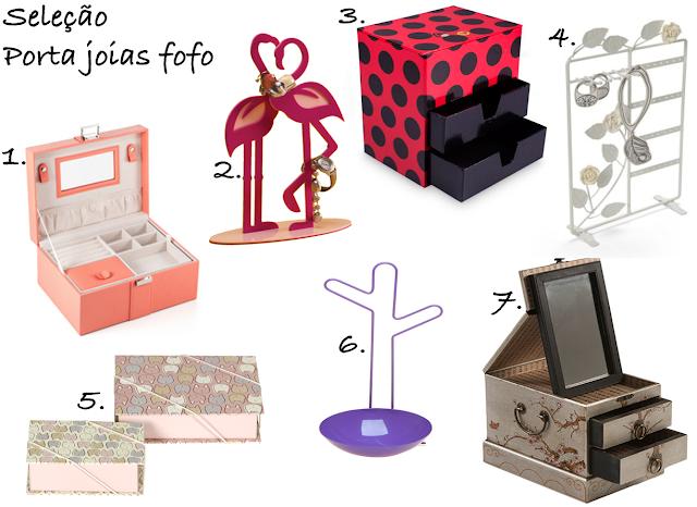Onde comprar, online, loja, porta joias, bijus, fofo