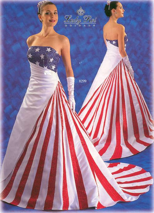 Fantastic Wedding Dresses Designs With a Colorful Model - Wedding Dress