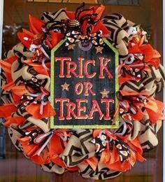 Halloween Day wishes wreaths