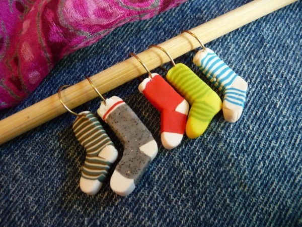 Knitting Markers Homemade : Joan tayler design in the land of lost socks