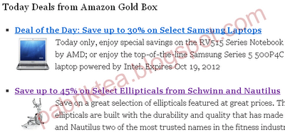 amazon gold box preview
