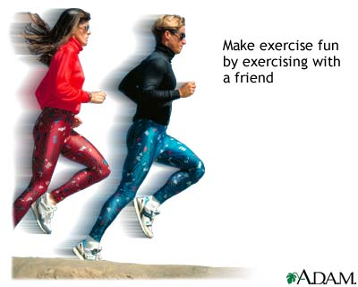 jogging exercises