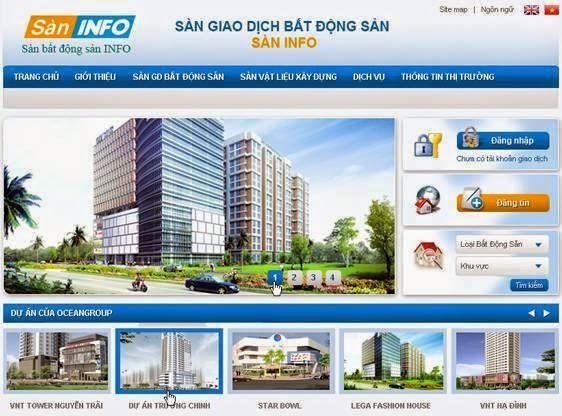 thiết kế website nhà đất chuyên nghiệp