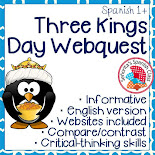 Three Kings Day Webquest - English Version