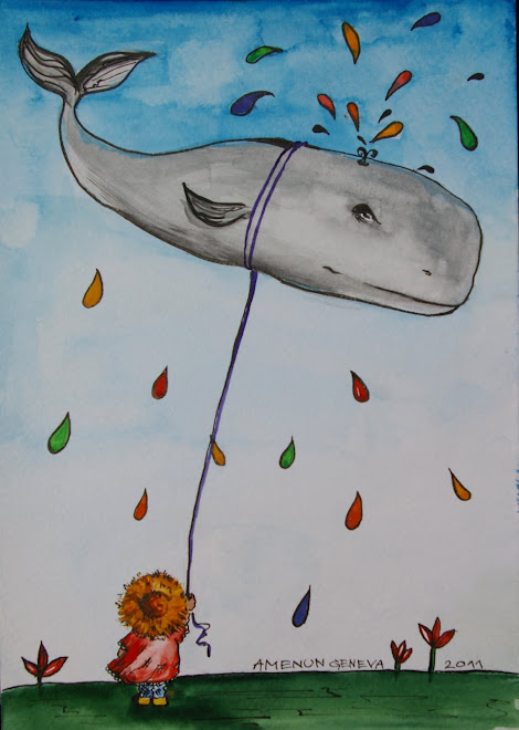 Whale balloon 148 x 210 mm