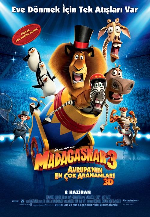 Madagaskar 3 (2012) Film indir