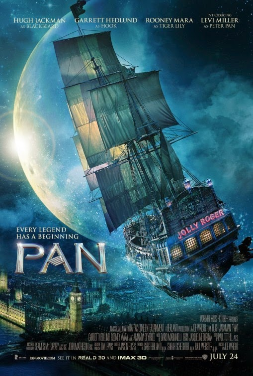 "New Movie ""Pan 2015"" Synopsis and trailer"