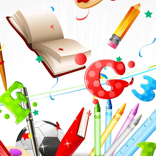 Decoraciones escolares para imprimir