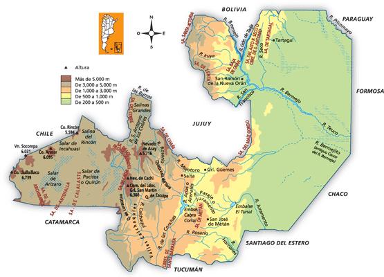 Hotels Salta Argentina Map - Argentina map salta