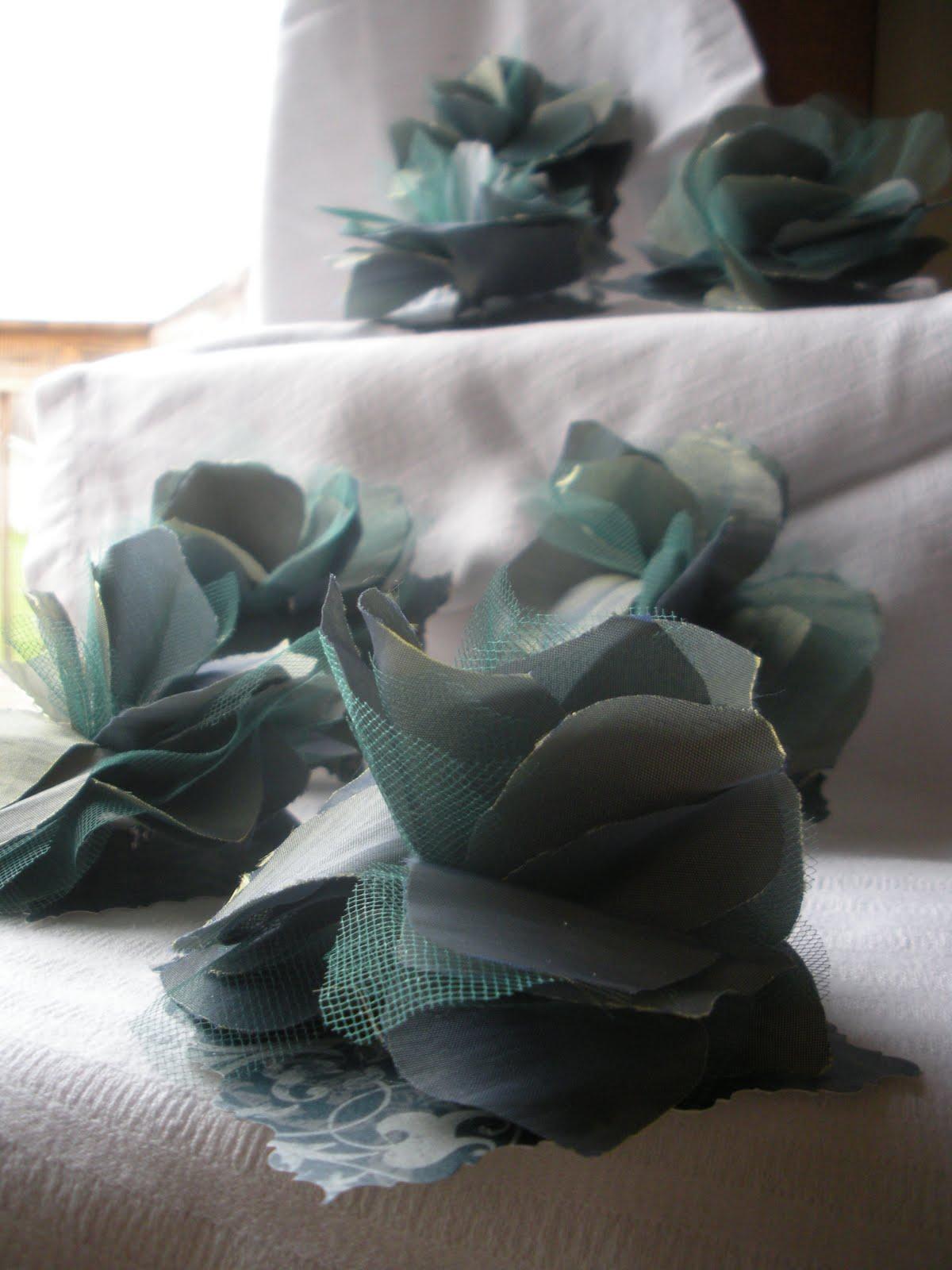 Wedding Dress Alterations Eau Claire Wi : Jennifer joyce design fabric flowers