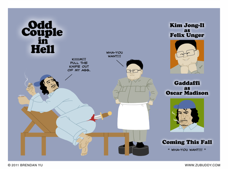 Odd Couple in Hell