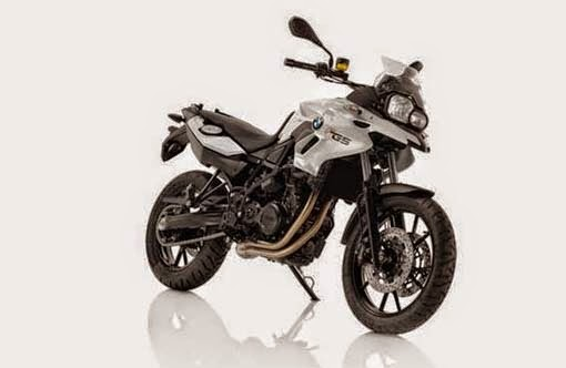 BMW F 700 GS Alpine White