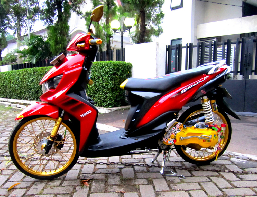 Top modifikasi airbrush mio soul gt