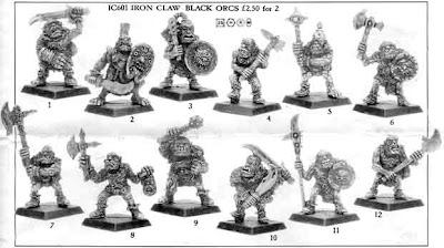 IC601 Black Orcs de Bob Olley