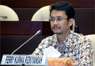 Dr. FERRY KURNIA RIZKIYANSYAH, S.I.P., M.Si, Anggota Komisi Pemilihan Umum Republik Indonesia (KPU RI) periode 2012-2017