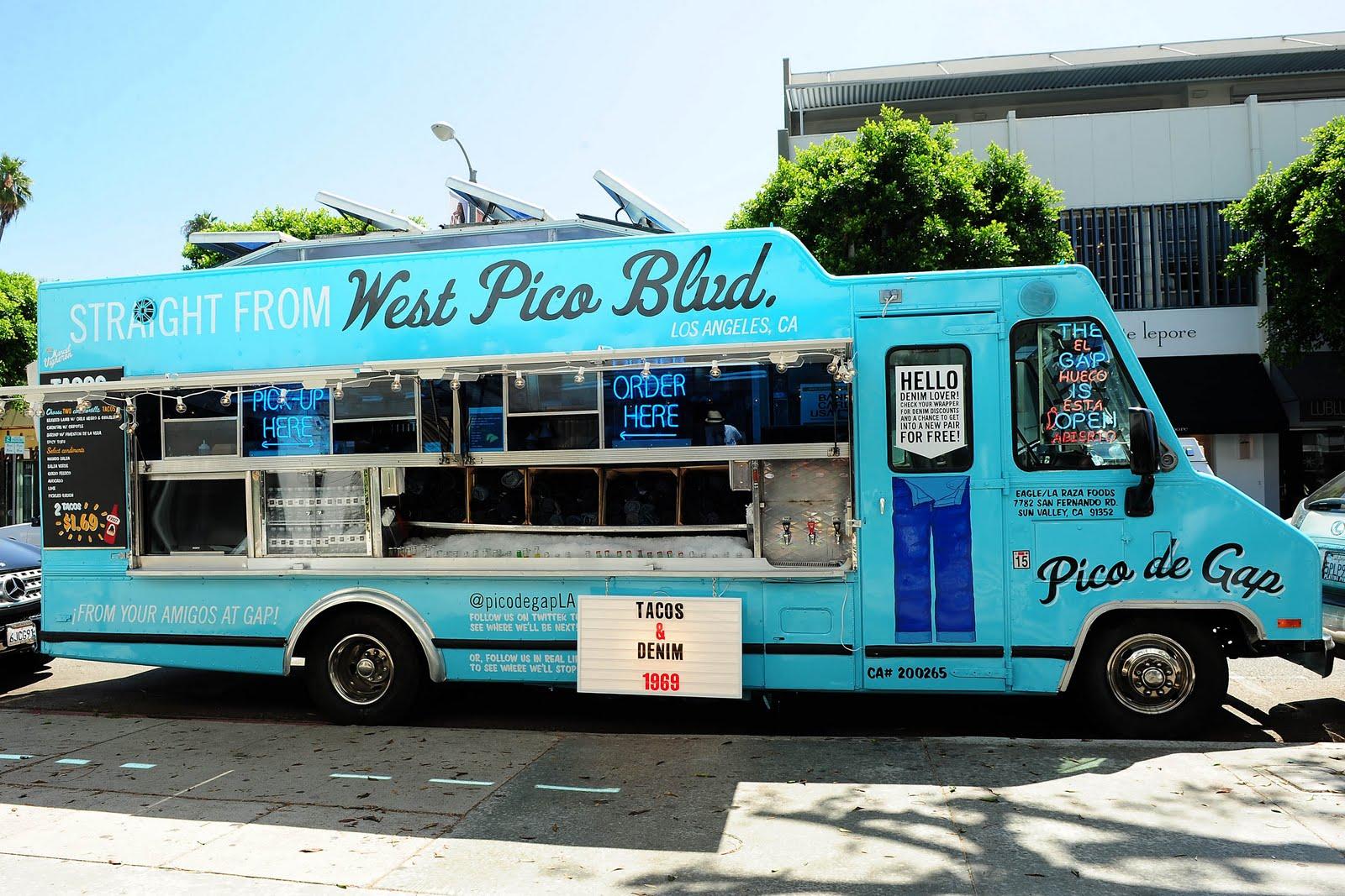 The Gap S Pico De Gap Truck Providing Food Fashion And
