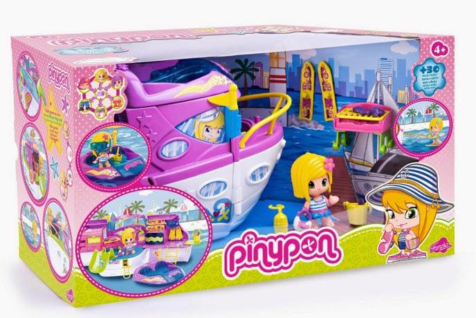JUGUETES - PINYPON - Barco | Yate  Producto Oficial | Famosa 700008920 | A partir de 4 años