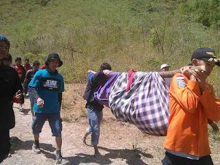 Arifin, Mahasiswa UNM, Danau Tanralili, Bawakaraeng, Jenazah, Evakuasi