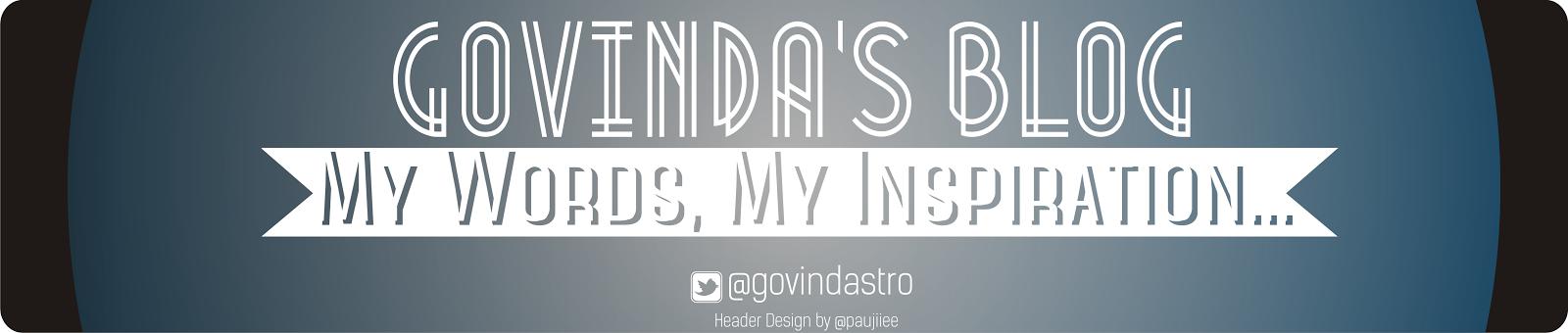 Govinda's diary