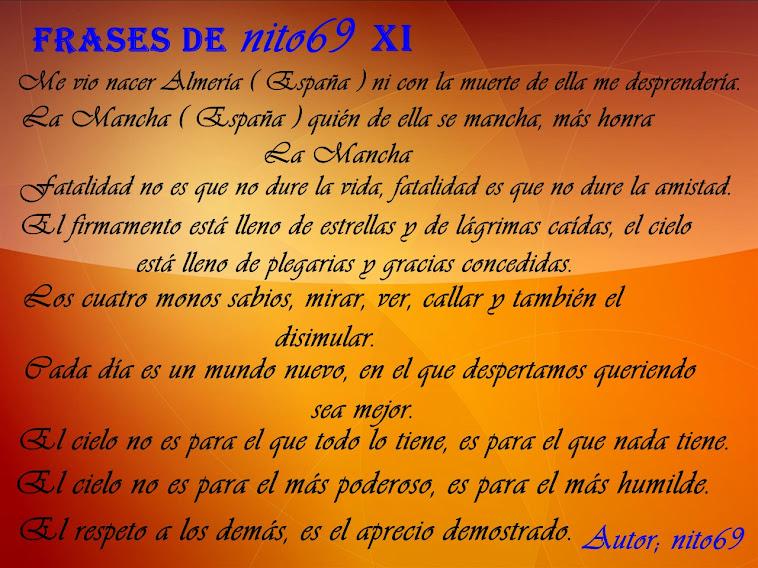 FRASES DE nito69 XI