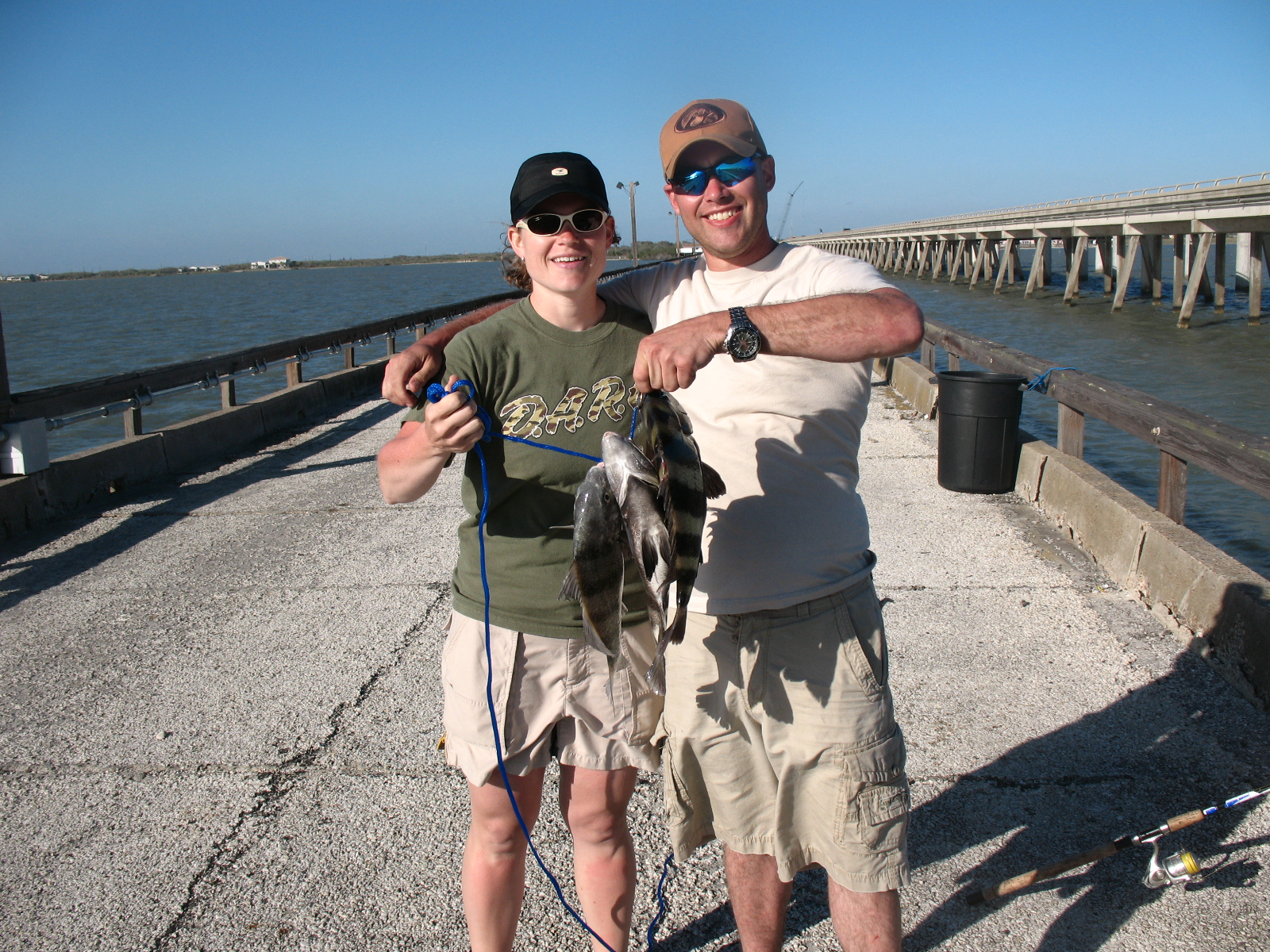 Doing it on the road part ii fishing with family on the for Copano bay fishing