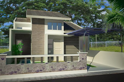 Jasa desain rumah minimalis modern 1 lantai harga murah hanya 500ribu
