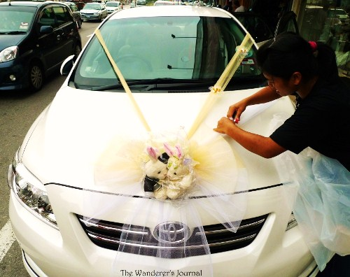 What i wish everyone knew about wedding car webshop nature wedding car decorations malaysia providing deco service junglespirit Image collections