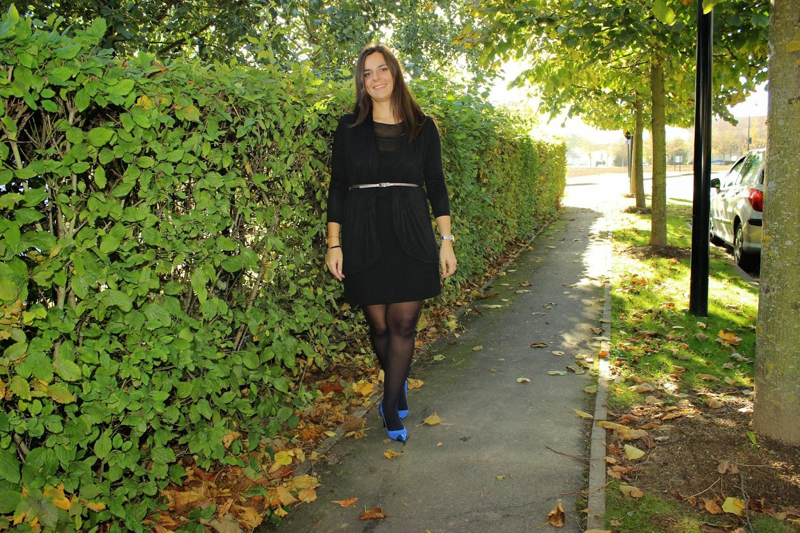 Robe Akoz Chaussures Sandro bleues