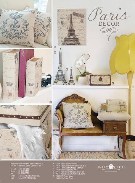 Paris Bedroom Decor