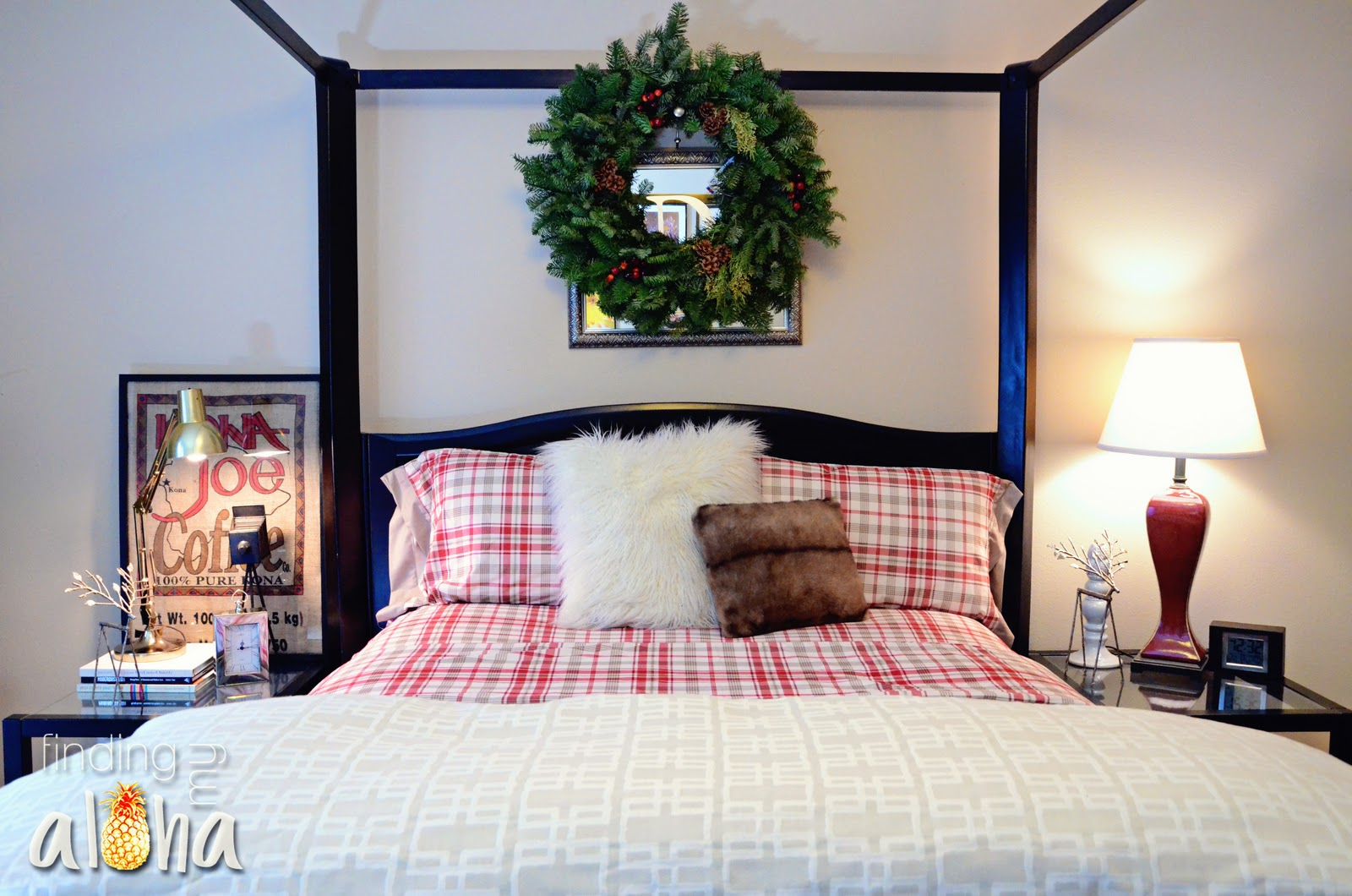 master bedroom decorating ideas christmas Finding My Aloha: My Christmas Home Tour: Bedrooms
